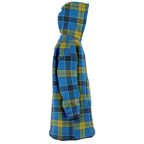 Laing Snug Hoodie - Unisex Tartan Plaid Right