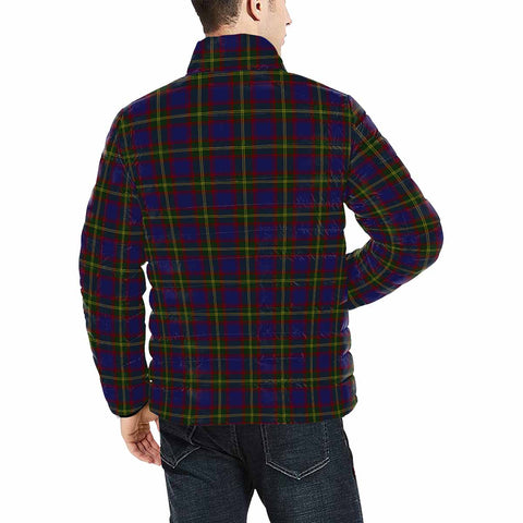Image of Durie Clan Scotland Tartan  Men's Lightweight Bomber Jacket K9
