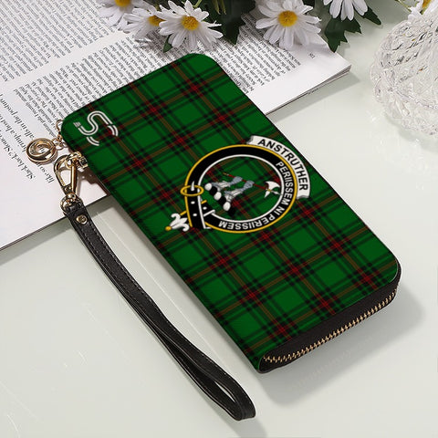 Anstruther Crest Tartan Zipper Wallet™
