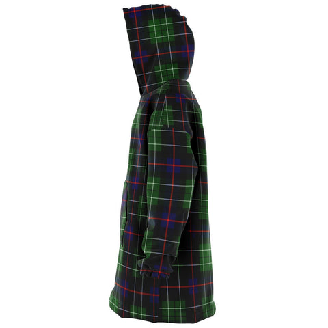 Leslie Hunting Snug Hoodie - Unisex Tartan Plaid Left