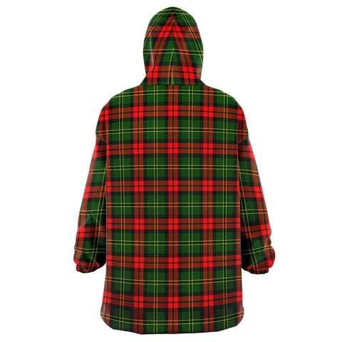 Blackstock Snug Hoodie - Unisex Tartan Plaid Back
