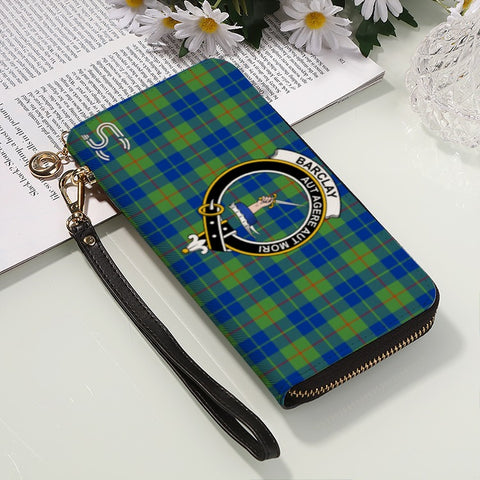 Barclay Hunting Ancient  Crest Tartan Zipper Wallet™