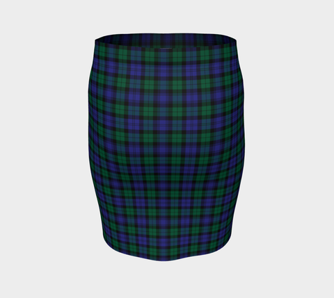 Tartan Fitted Skirt - Blackwatch Modern | Special Custom Design
