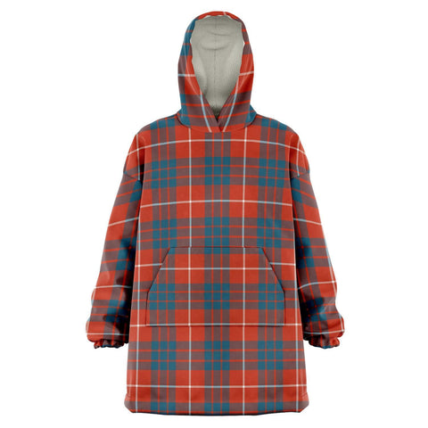 Image of Hamilton Ancient Snug Hoodie - Unisex Tartan Plaid Front