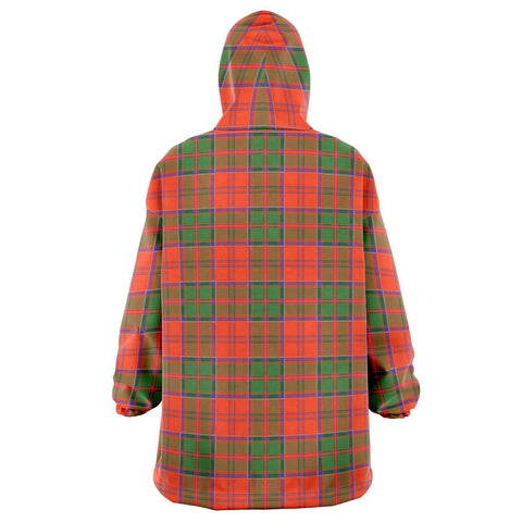 Grant Ancient Snug Hoodie - Unisex Tartan Plaid Back