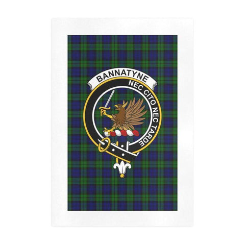 Bannatyne Clan Tartan Art Print | Tartan Decor | Hot Sale