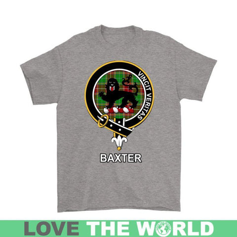 Baxter Clan Tartan T-Shirt | Over 500 Tartans and 300 Clans | Love Scotland