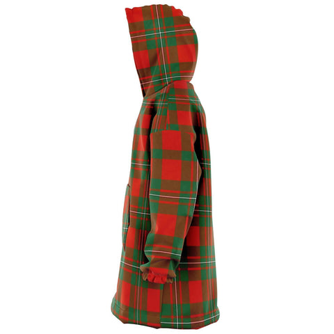 MacGregor Ancient Snug Hoodie - Unisex Tartan Plaid Left