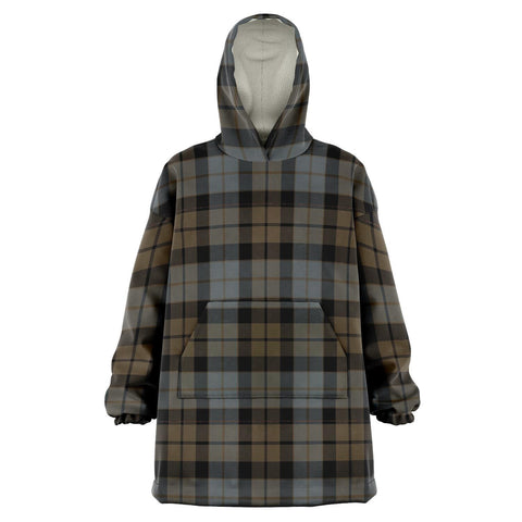 Image of MacKay Weathered Snug Hoodie - Unisex Tartan Plaid Front