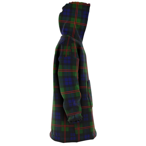 Dundas Modern 02 Snug Hoodie - Unisex Tartan Plaid Right
