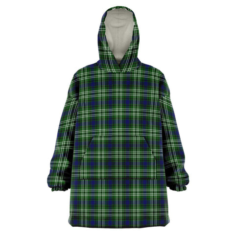 Tweedside District Snug Hoodie - Unisex Tartan Plaid Front