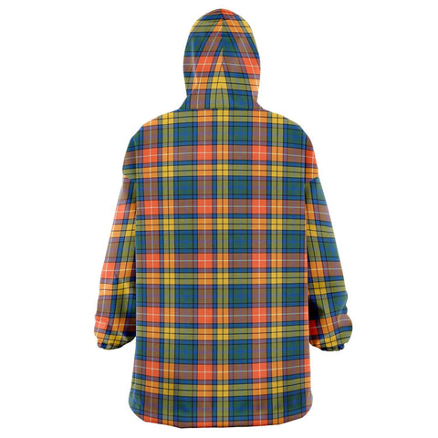 Buchanan Ancient Snug Hoodie - Unisex Tartan Plaid Back