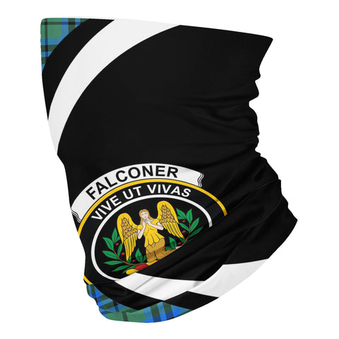 Falconer Tartan Neck Gaiter Circle HJ4 (USA Shipping Line)