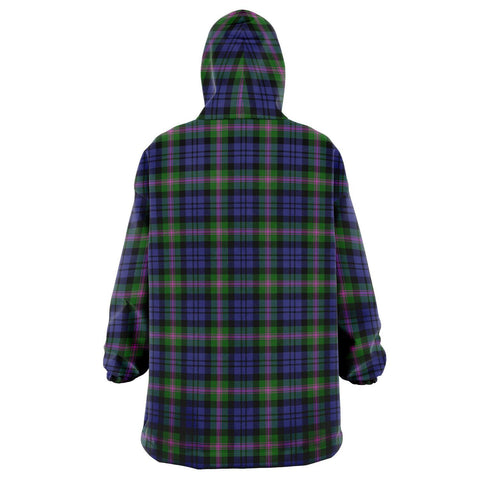 Image of Baird Modern Snug Hoodie - Unisex Tartan Plaid Back