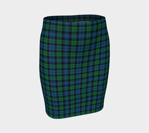 Tartan Fitted Skirt - Blackwatch Ancient | Special Custom Design