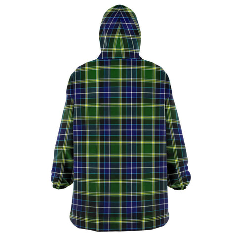 Image of MacKellar Snug Hoodie - Unisex Tartan Plaid Back