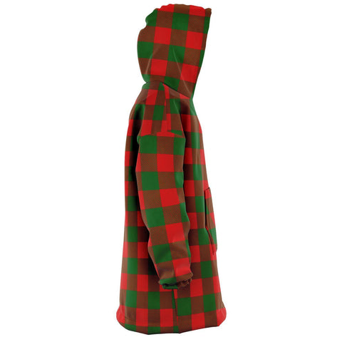Moncrieffe Snug Hoodie - Unisex Tartan Plaid Right