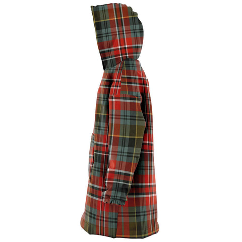Image of MacPherson Weathered Snug Hoodie - Unisex Tartan Plaid Left