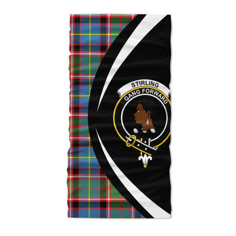 Stirling & Bannockburn District Tartan Neck Gaiter Circle HJ4