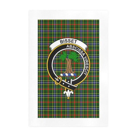 Bisset Clan Tartan Art Print | Tartan Decor | Hot Sale