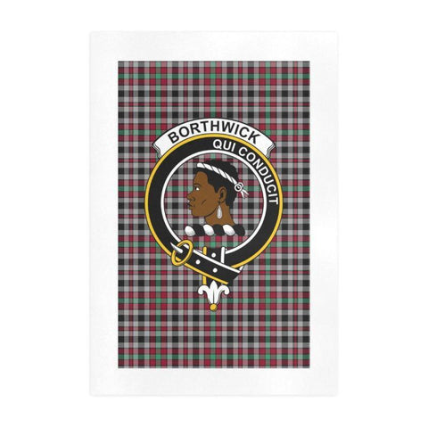 Borthwick Clan Tartan Art Print | Tartan Decor | Hot Sale