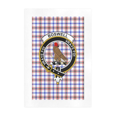 Boswell Clan Tartan Art Print | Tartan Decor | Hot Sale