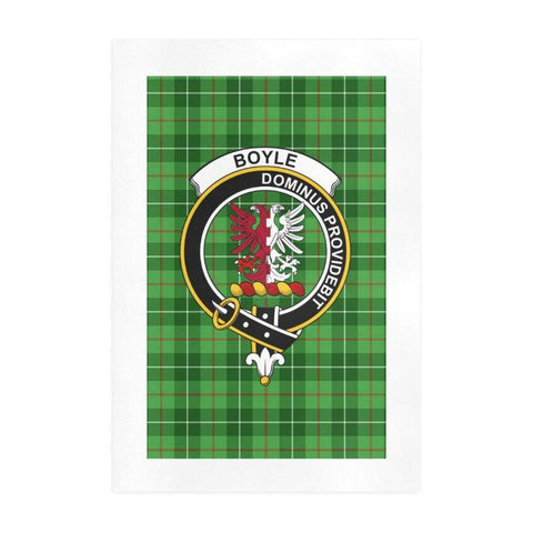Boyle Clan Tartan Art Print | Tartan Decor | Hot Sale