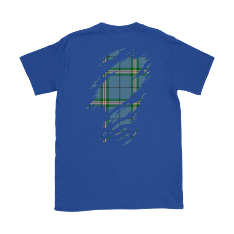 Image of Clelland Modern Lives in me Tartan T Shirt K7