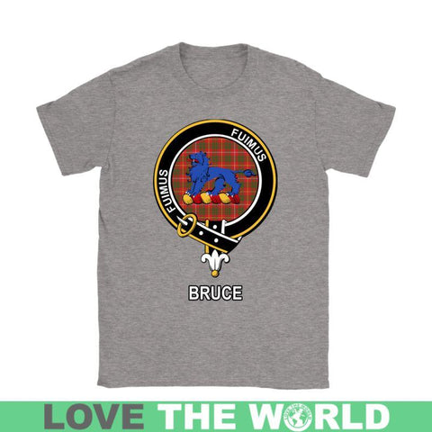 Bruce Clan Tartan T-Shirt | Over 500 Tartans and 300 Clans | Love Scotland