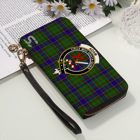 Adam Crest Tartan Zipper Wallet™