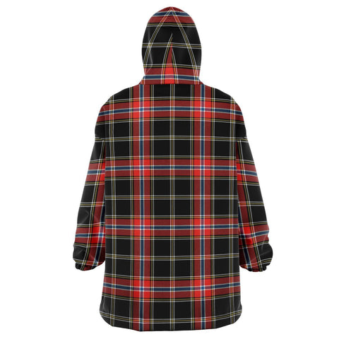 Norwegian Night Snug Hoodie - Unisex Tartan Plaid Back