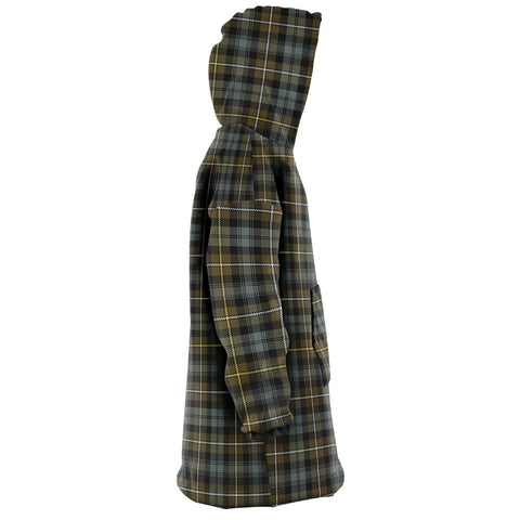 Campbell Argyll Weathered Snug Hoodie - Unisex Tartan Plaid Right