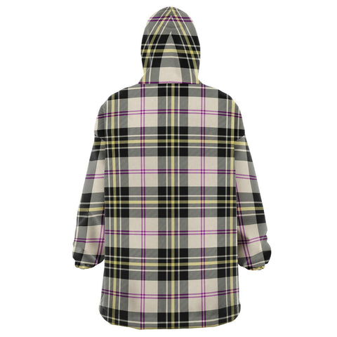 MacPherson Dress Ancient Snug Hoodie - Unisex Tartan Plaid Back