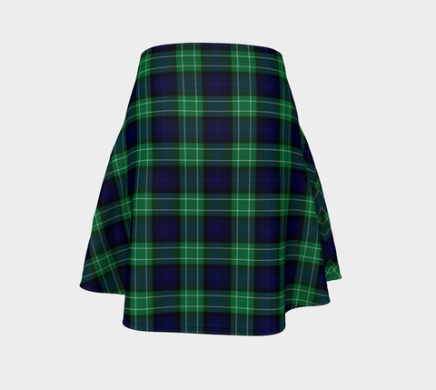 Tartan Flared Skirt - Abercrombie |Over 500 Tartans | Special Custom Design | Love Scotland