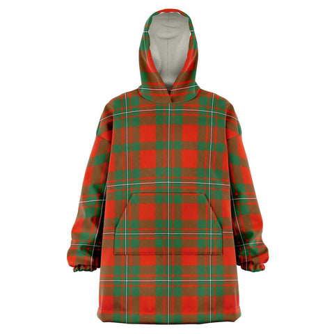 Image of MacGregor Ancient Snug Hoodie - Unisex Tartan Plaid Front