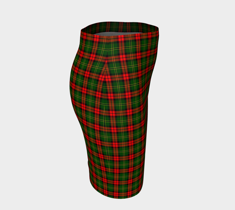 Tartan Fitted Skirt - Blackstock | Special Custom Design