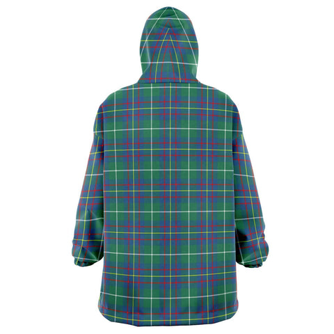 Inglis Ancient Snug Hoodie - Unisex Tartan Plaid Back