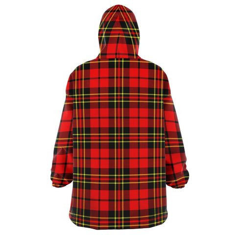 Image of Brodie Modern Snug Hoodie - Unisex Tartan Plaid Back