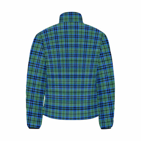 Falconer Clan Scotland Tartan  Men's Lightweight Bomber Jacket K9