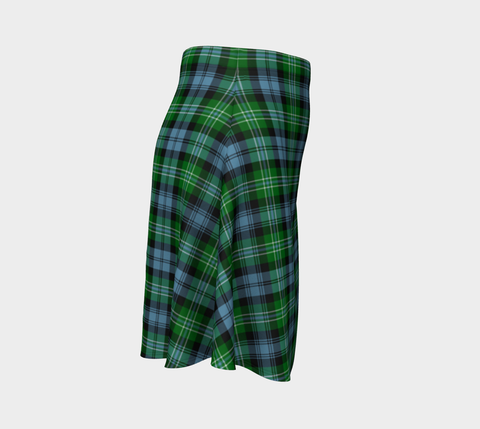 Tartan Flared Skirt - Arbuthnot Ancient |Over 500 Tartans | Special Custom Design | Love Scotland