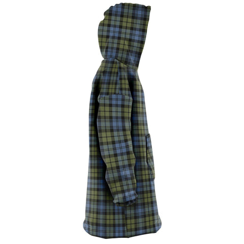 Campbell Faded Snug Hoodie - Unisex Tartan Plaid Right