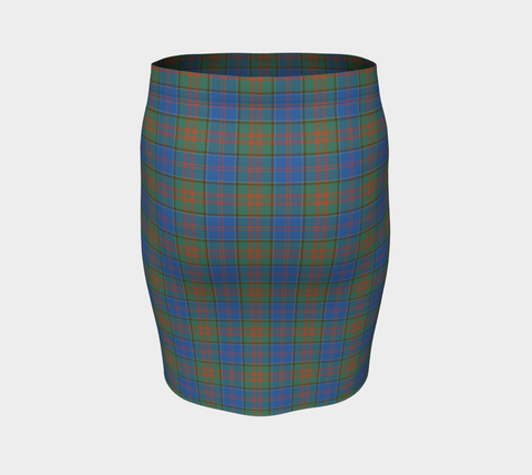 Tartan Fitted Skirt - Stewart of Appin Hunting Ancient | Special Custom Design