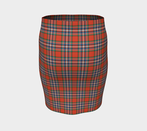 Tartan Fitted Skirt - MacFarlane Ancient | Special Custom Design