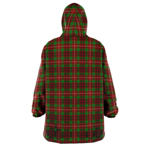Image of Ainslie Snug Hoodie - Unisex Tartan Plaid Back