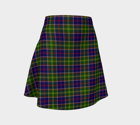 Tartan Flared Skirt - Ayrshire District |Over 500 Tartans | Special Custom Design | Love Scotland