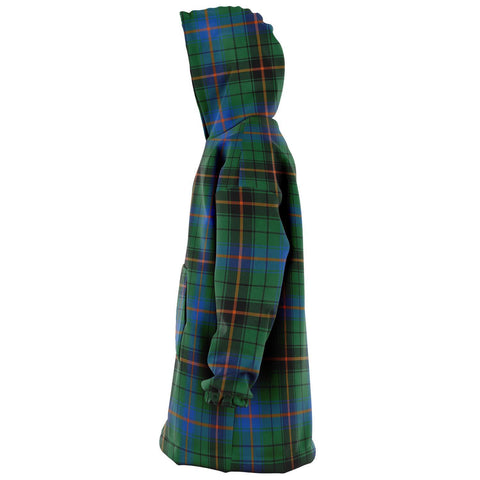 Davidson Ancient Snug Hoodie - Unisex Tartan Plaid Left