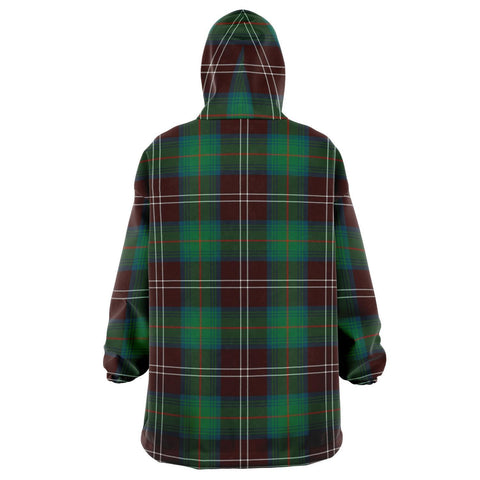 Chisholm Hunting Ancient Snug Hoodie - Unisex Tartan Plaid Back