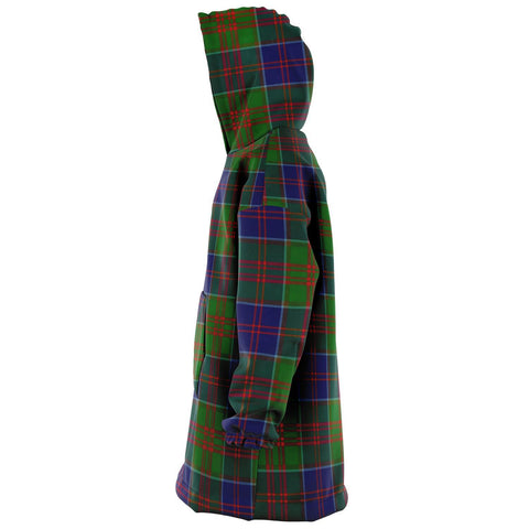 Stewart of Appin Hunting Modern Snug Hoodie - Unisex Tartan Plaid Left