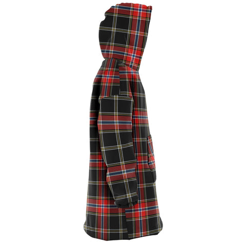 Norwegian Night Snug Hoodie - Unisex Tartan Plaid Right