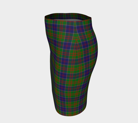Tartan Fitted Skirt - Stewart of Appin Hunting Modern | Special Custom Design
